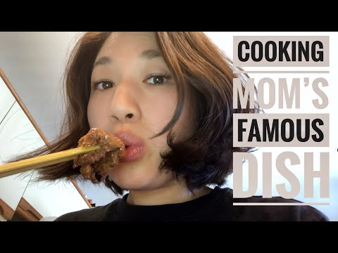 COOKING MOM'S FAMOUS DISH | VANCOUVER DAYS 24 & 25
