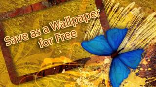 Butterfly Color Live Wallpaper YouTube video