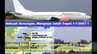 Video Kejadian Aneh Aneh Sebelum Adam Air Jatuh MP3, 3GP, MP4, WEBM, AVI, FLV September 2017
