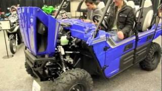 10. 2012 Kawasaki Teryx 4 750 FI 4X4 EPS - All NEW 2012 Teryx4 750FI RUV Overview