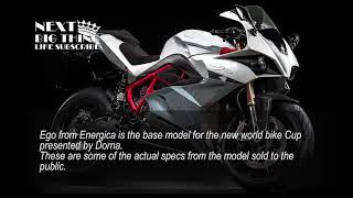 7. Electric Motogp Energica 2019 Ego Base Road Model Specs