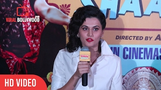 Taapase Pannu Full Speech |  Running Shaadi.com Press Conference | Viralbollywood