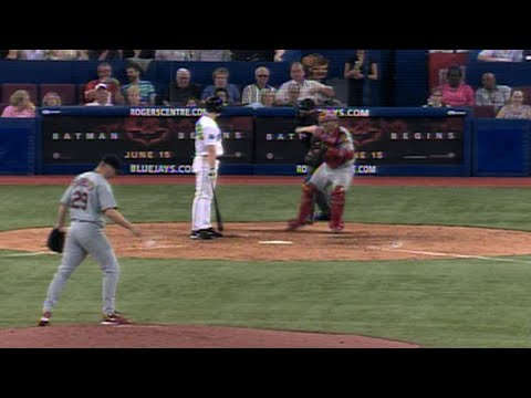 Video: Chris Carpenter records the 10th K of his one-hitter
