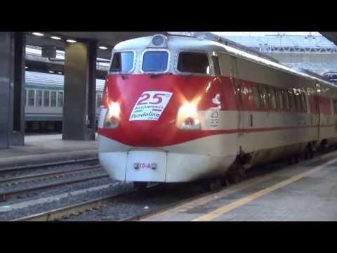 Rome Termini, Roma Termini, Tren Alta Velocita, High Speed Train, Pendolino to Reggio Calabria