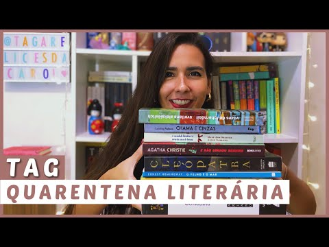 TAG QUARENTENA LITERÁRIA // VEDA #9 | Ana Carolina Wagner