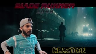Blade Runner 2049 - Teaser Trailer REACTION! (Harrison Ford)