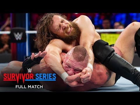 FULL MATCH - Brock Lesnar vs. Daniel Bryan - Champion vs. Champion Match: Survivor Series 2018