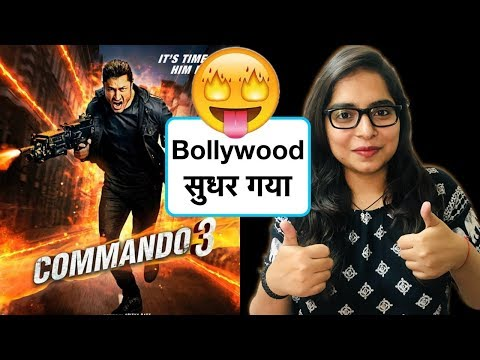 Commando 3 Movie REVIEW | Deeksha Sharma