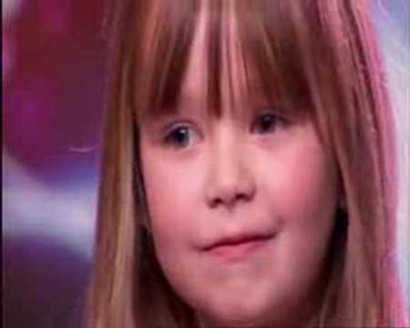 Singers - She's not only adorable - but dead on! Watch this amazing 6 year old sing Somewhere Over the Rainbow PERFECTLY on Britain's Got Talent. Even Simon was impres...