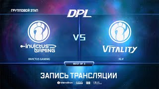 IG vs IG.Vitality, DPL Season 6 Top League, bo3, game 1 [Adekvat & 4ce]