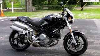 6. 2007 Ducati Monster S2R 1000 Black at Euro Cycles of Tampa Bay