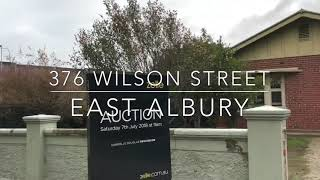 376 Wilson Street Auction