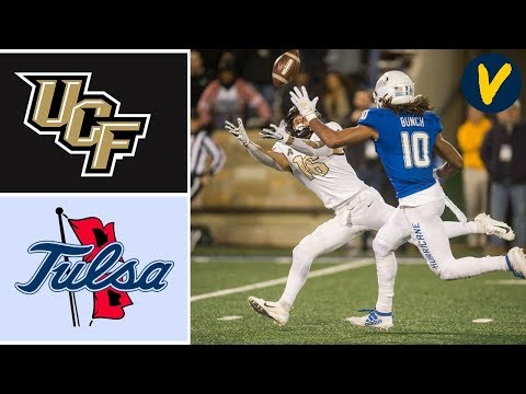 UCF vs Tulsa Highlights | Week 11 | College Football 2019