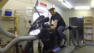 7. Kawasaki ZX10R (2004/2005) Dyno Run (GoPro Hero 3)