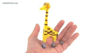 Palm-sized LEGO Giraffe! (ver. 3 custom MOC)