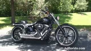 7. Used 2014 Harley Davidson Softail Breakout Motorcycles for sale