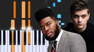 "Video Martin Garrix ft Khalid - ""Ocean"" - Piano Tutorial - Chords - How To Play - Cover MP3, 3GP, MP4, WEBM, AVI, FLV Juli 2018"
