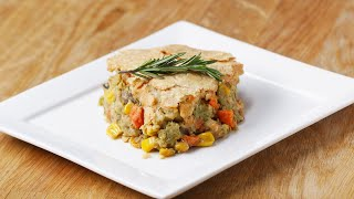 Veggie-Packed Chickpea Pot Pie by Tasty