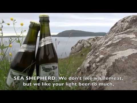 Sea Shepherd Light beer commercial from the Faroe Islands