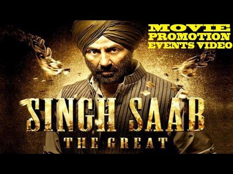 """Singh Saab the Great"" (2013) Promotion Events Full Video   Sunny Deol, Amrita Rao, Urvashi"