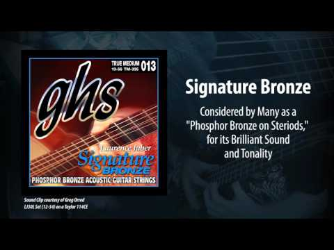 GHS Strings - Signature Bronze Acoustic Strings