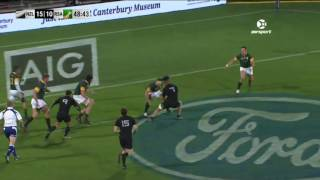 New Zealand v South Africa Rd.4 Rugby Championship Video Highlights