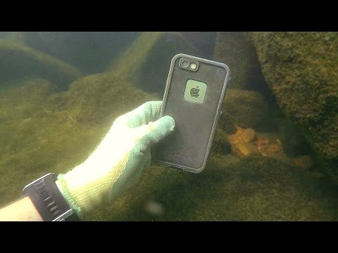 Download Found 3 GoPros, iPhone, Gun and Knives Underwater in River! - Best River Treasure Finds of 2016 HD Mp4 3GP Video and MP3