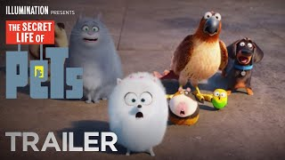 The Secret Life Of Pets  Trailer 2 HD  Illumination