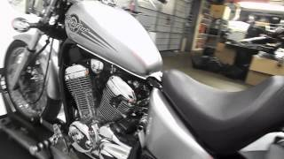 7. 2006 Honda VT600C Shadow VLX 600 Silver - used motorcycle for sale -Eden Prairie, MN
