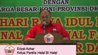 Sambutan Ketua Panitia Halal bi Halal 2016 KONI DKI Jakarta