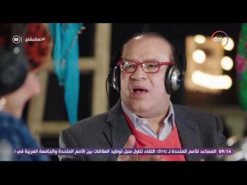 غادة عادل مذيعة شعبية مع صلاح عبدالله