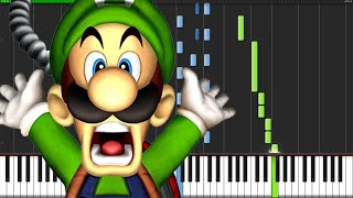 Luigi's Mansion Medley - Luigi's Mansion [Piano Tutorial] Ноты и М�Д� (MIDI) можем выслать Вам (Shee