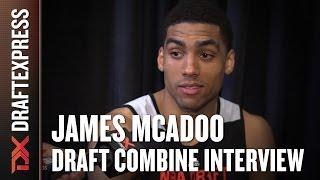 James McAdoo Draft Combine Interview