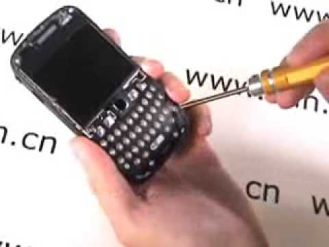 comment demonter blackberry curve