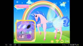 Unicorn Dress up - Girl Game YouTube video