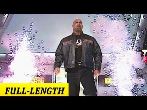 Goldberg WWE Debut