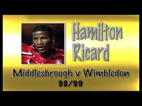 HAMILTON RICARD - Boro v Wimbledon, 98/99   Retro Goal