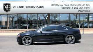 2008 Audi S5 In Review - Village Luxury Cars Toronto