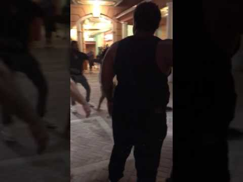 Girls fighting at city place/she got naked😴😴