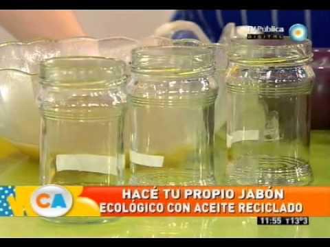 Reciclá aceite en jabón!