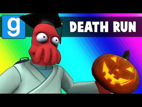 Gmod Death Run Funny Moments - The Haunted High School! (Garry's Mod) (видео)