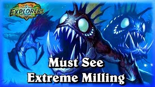 Must See EXTREME Milling ~Hearthstone Heroes of Warcraft The League of Explorers Video