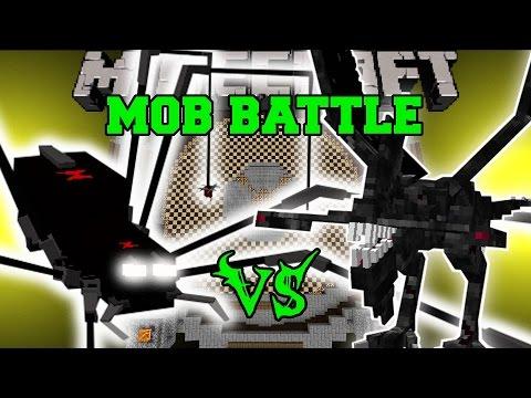 ROBOT SPIDER VS NIGHTMARE - Minecraft Mob Battles - Mods