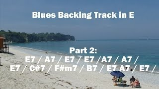 Hot Summer Day Blues - Backing Track