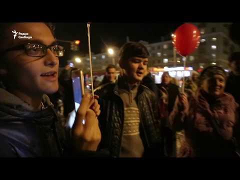Митинг в поддержку Навального в Казани