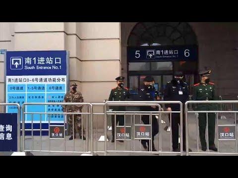 China: Wuhan und weitere Städte in der Hubei-Provinz  ...