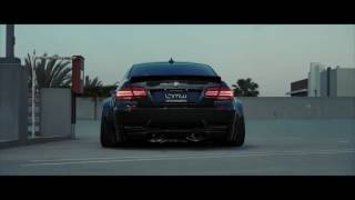 Insane Exhaust note and clean widebody E92