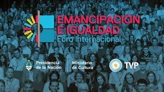 Camila Vallejo en Foro por la Emancipación e Igualdad