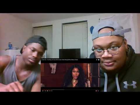 Lil Uzi Vert - The Way Life Goes Remix (Feat. Nicki Minaj) [Official Music Video] - REACTION