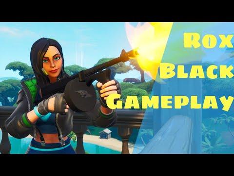 Rox Skin Black (stage 1) Gameplay - Fortnite | DSDK Gaming